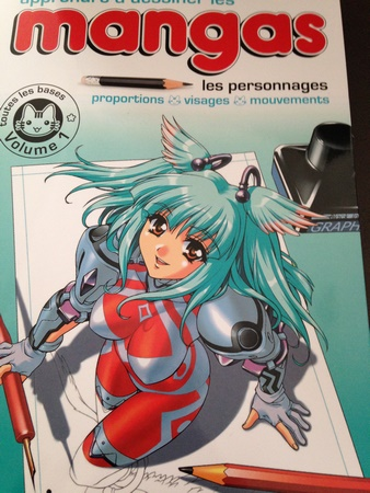 dessin personnage manga