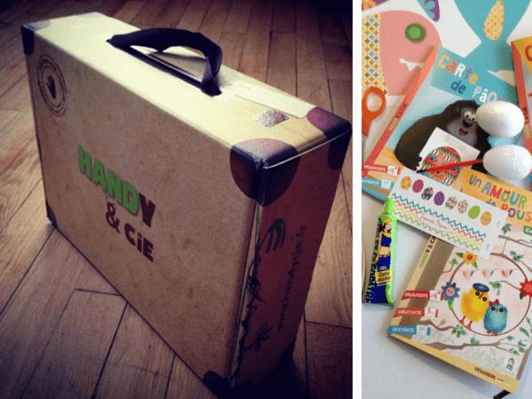 Test et concours: box enfants Handy & Cie
