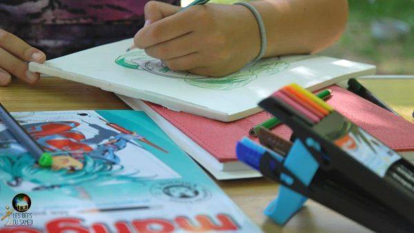 livre apprendre dessiner mangas debutant
