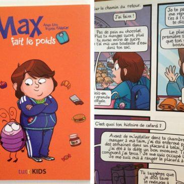"""Parler obésité chez les enfants avec """"Max fait le poids"""""""