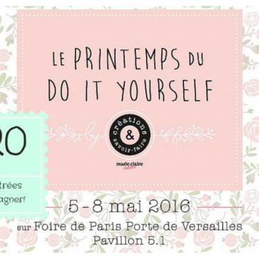 Salon printemps du DIY, Foire de Paris #concours
