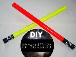 star wars diy sabre