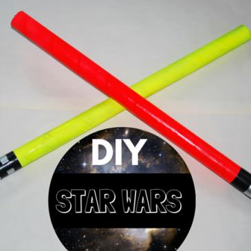 Fabriquer des sabres Star Wars en recup
