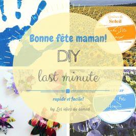 DIY dernière minute: bonne fête maman!