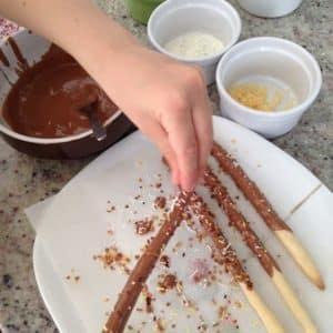chocolat fondu yummy box