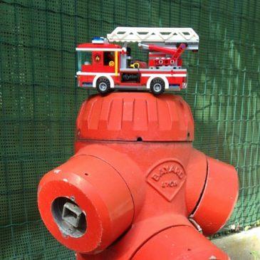 Camion de pompier lego: presque un vrai!