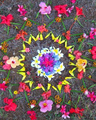 fleurs mandala daught of the sun