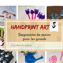Handprint art: DIY empreinte de main pour les plus grands