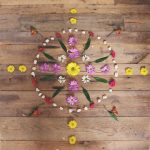 landart for kids flower