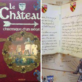 livre chateau manuscrit