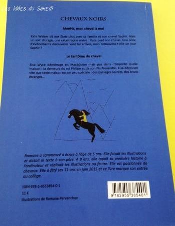 livre chevaux noirs