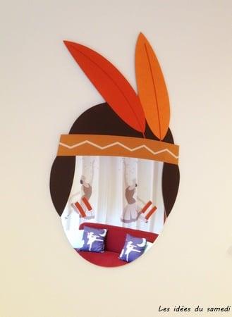 masque indien miroir lesideesdusamedi