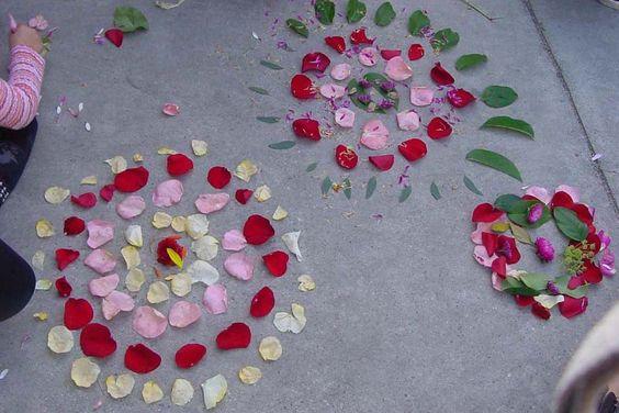 petales fleurs mandala