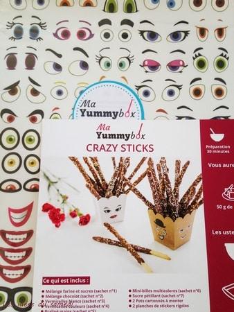 recettes crazy sticks