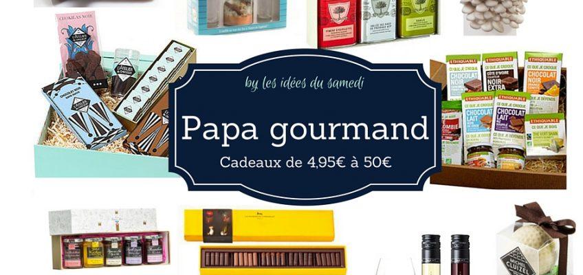 Fête des pères gourmands: 15 cadeaux de 4,95€ à 50 €