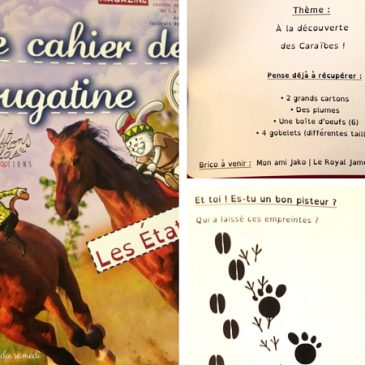 Le cahier de Nougatine, magazine pour enfants de 5-10 ans