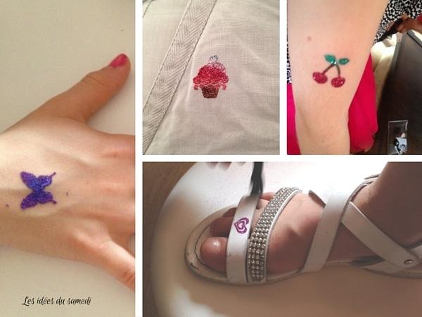glimmer body art paillettes