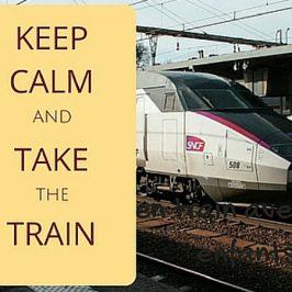 keel calm take train