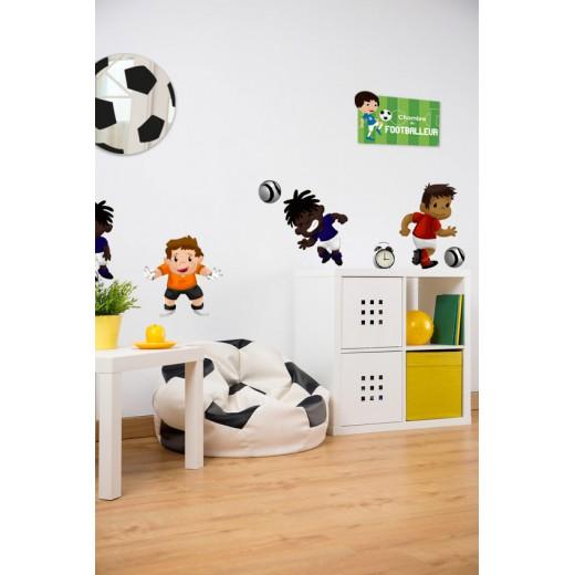 kit-deco-enfant-ballon-foot-vert