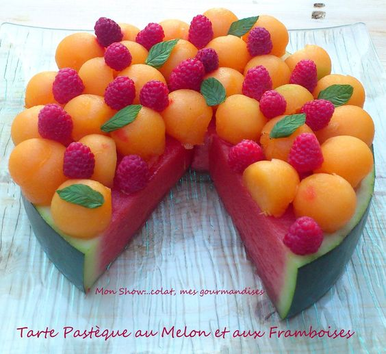 tarte fruits pasterque