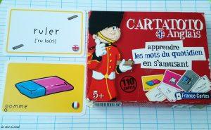 revision anglais cartatoto