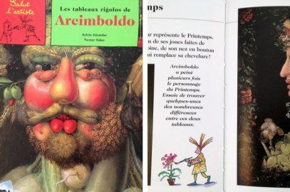 Livre: Les tableaux rigolos d'Arcimboldo #chutlesenfantslisent