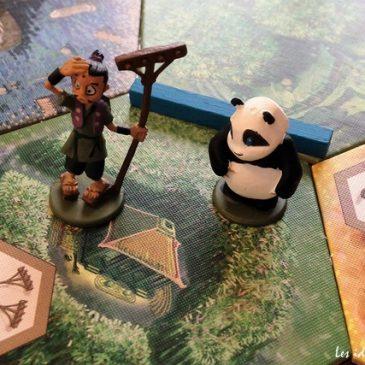 Jeu familial: Takenoko, un panda, et des bambous #osonsjouer