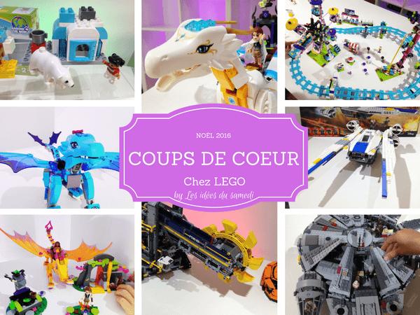Noël chez Lego: nos coups de cœur + concours!