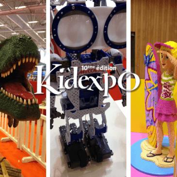 C'est LA sortie géante des vacances: Kidexpo, jusqu'au 24 octobre