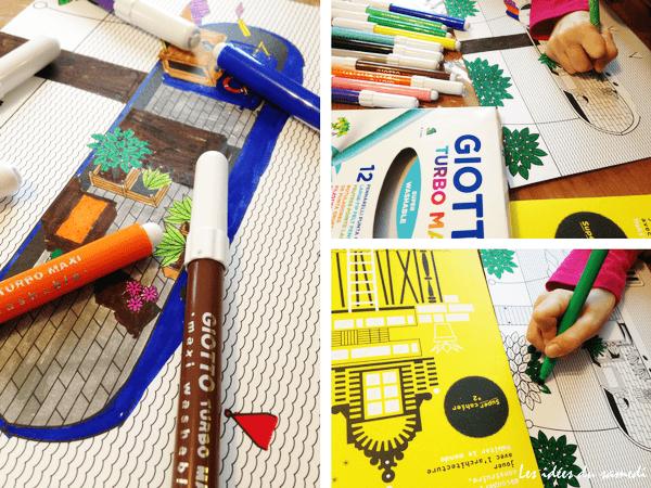 Cahiers d'activités éducatives autour de l'alphabet et de l'architecture