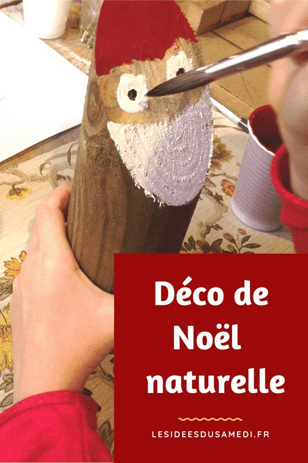 faire des decorations noel naturelles