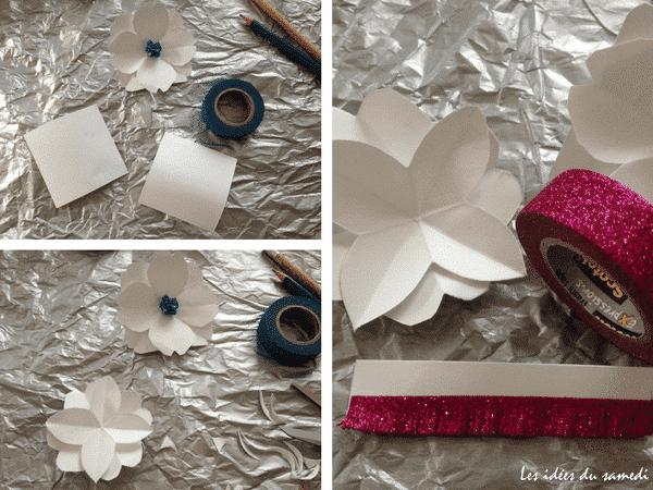 fleur-papier-paillettes