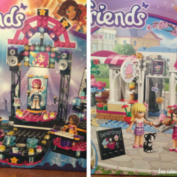Test Lego Friends: on cuisine et on chante!