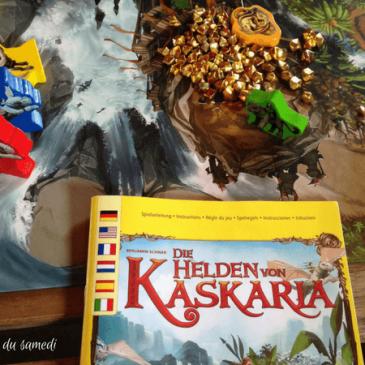 Jeu d'aventure sur plateau: Les héros de Kaskaria de Haba #osonsjouer