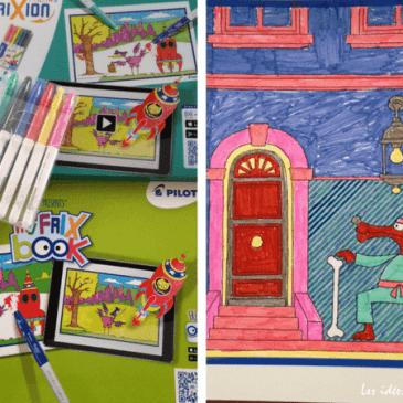 Des coloriages animés avec My FrixBook de Pilot (+concours)