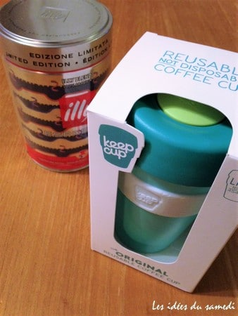 reusable cup illy