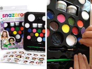 snazaroo face painting