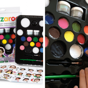 snazaroo face painting