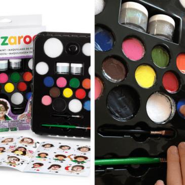 Maquillage de fête avec Snazaroo: face painting
