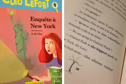 Lecture bilingue: Cléo Lefort aux Éditions Chattycat