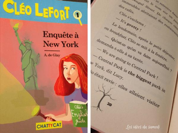 Un Roman Bilingue Anglais Francais Avec Cleo Lefort