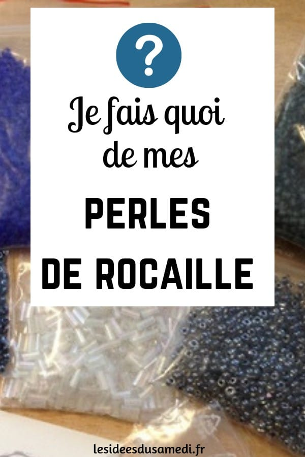 idees bricolage perles rocaille