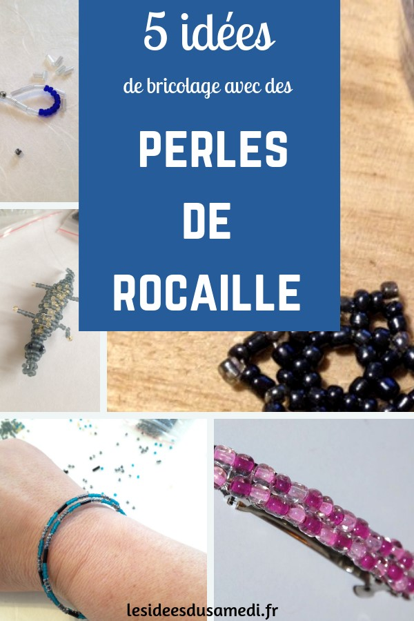 Que Faire Avec Des Perles De Rocaille 5 Idees De Bricolages Du Plus Simple Au Plus Difficile