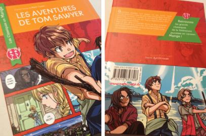 Les classiques en Manga : Les Aventures de Tom Sawyer avec nobi-nobi!