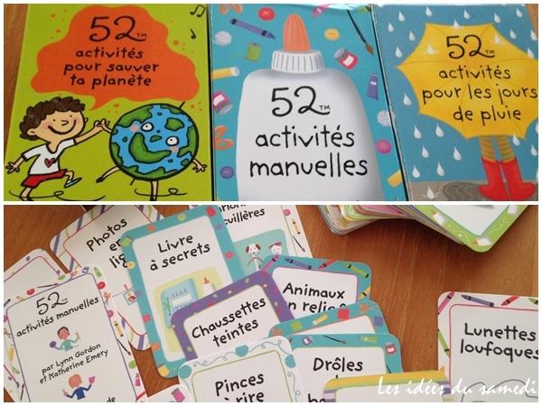 52 idées pour occuper les enfants: des boites à emporter partout! Editions 365