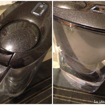 Bon plan pour la famille: une carafe à eau élégante et filtrante, Brita