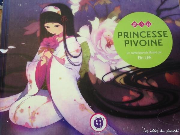 Un conte japonais poétique: Princesse pivoine chez nobi-nobi!