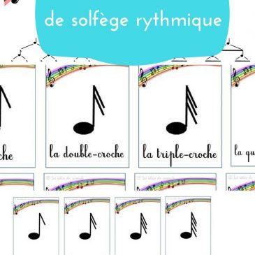 Apprendre le solfège rythmique et les équivalences par le jeu