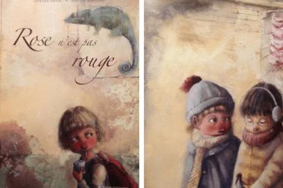 Livre sur les enfants timides: Rose n'est pas rouge