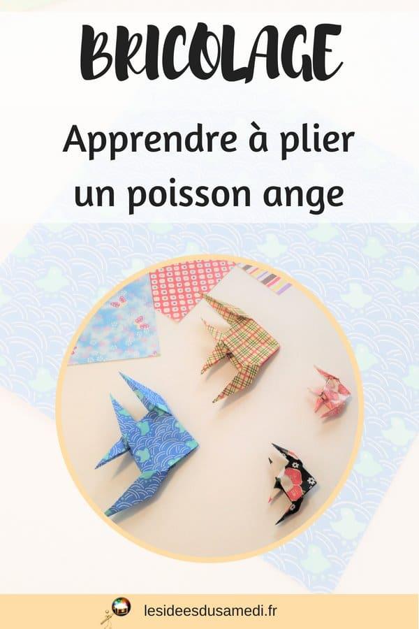 comment plier des poissons en origami